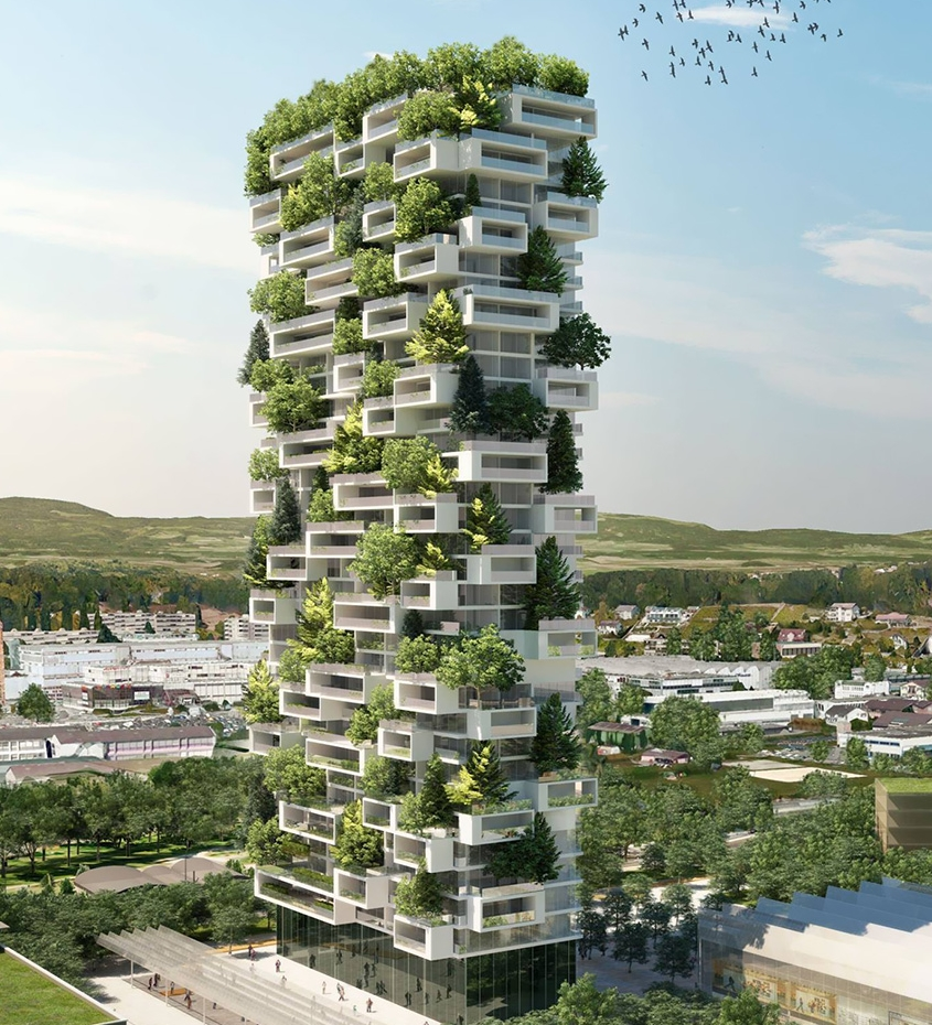 Vertical Forest In Nanjing