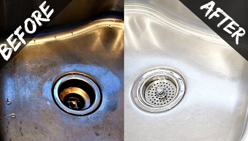 Get Rid Of Hard Water Stains