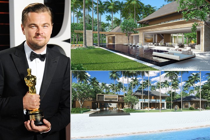 Leonardo DiCaprio 1.75 Million Belize