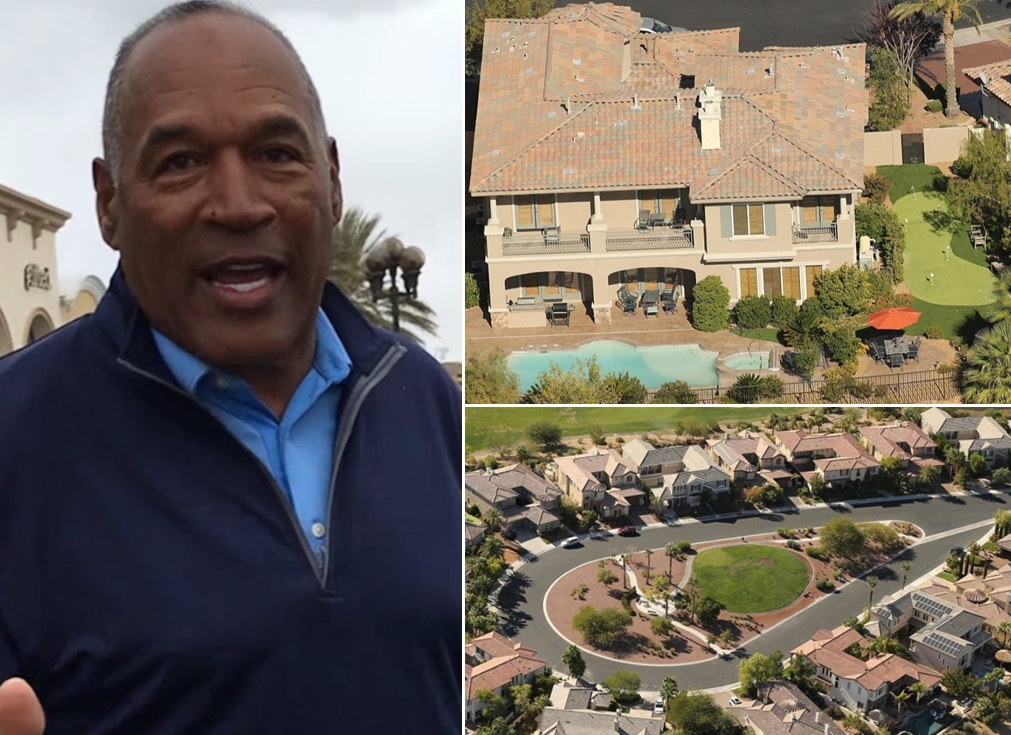 O.J. Simpson 1.8 Million Las Vegas