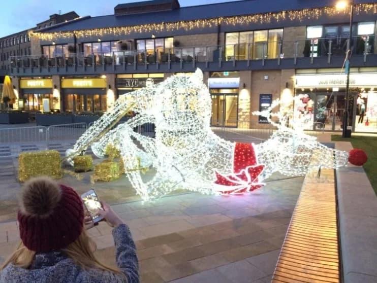 Down Goes The Reindeer