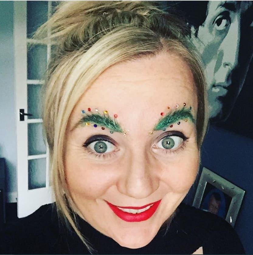 Crazy Eyebrow Lady