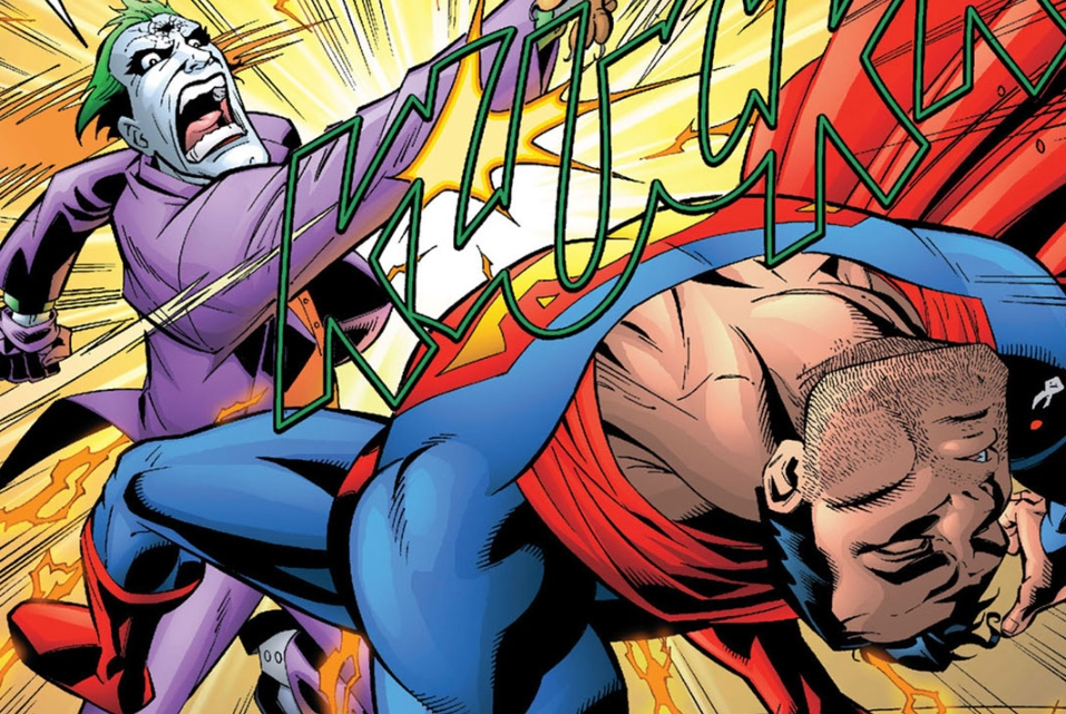 Superman Punched Him