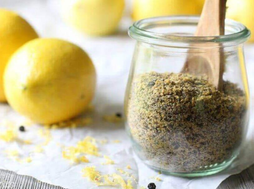 Homemade Lemon Pepper