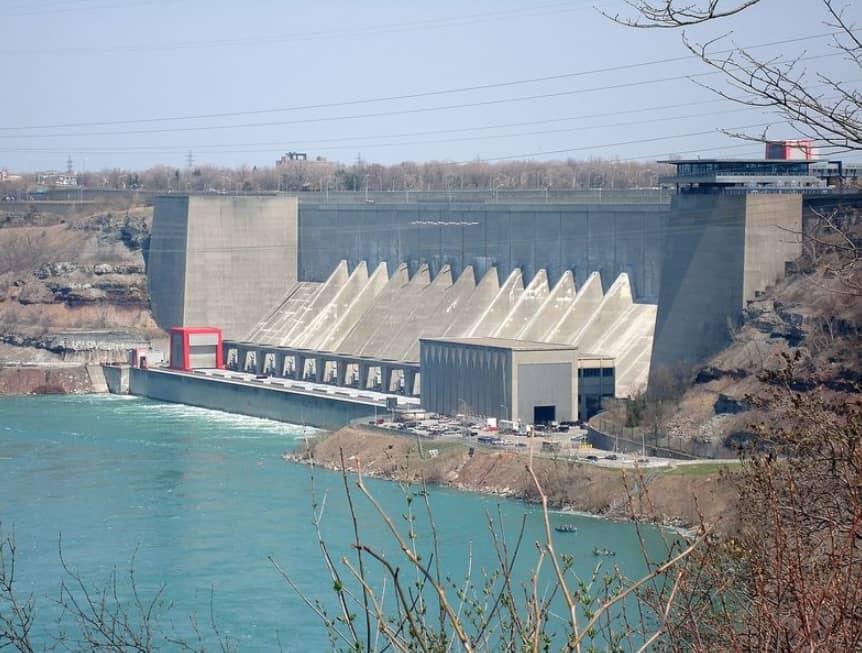 The Falls Still Create Electricity