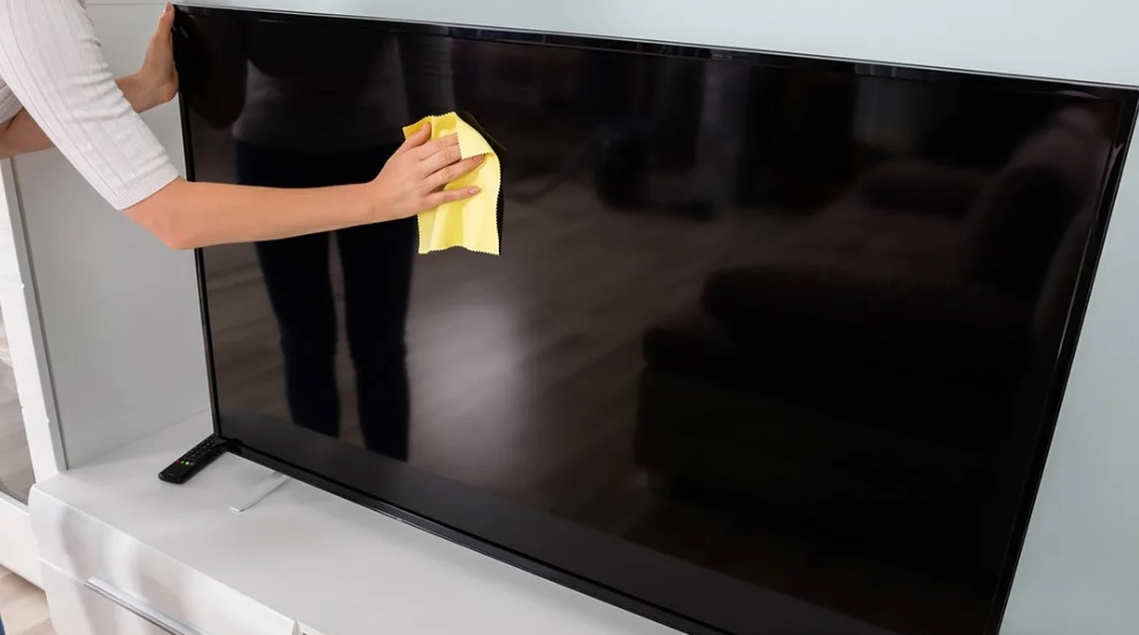 Clean Your Flat Screen