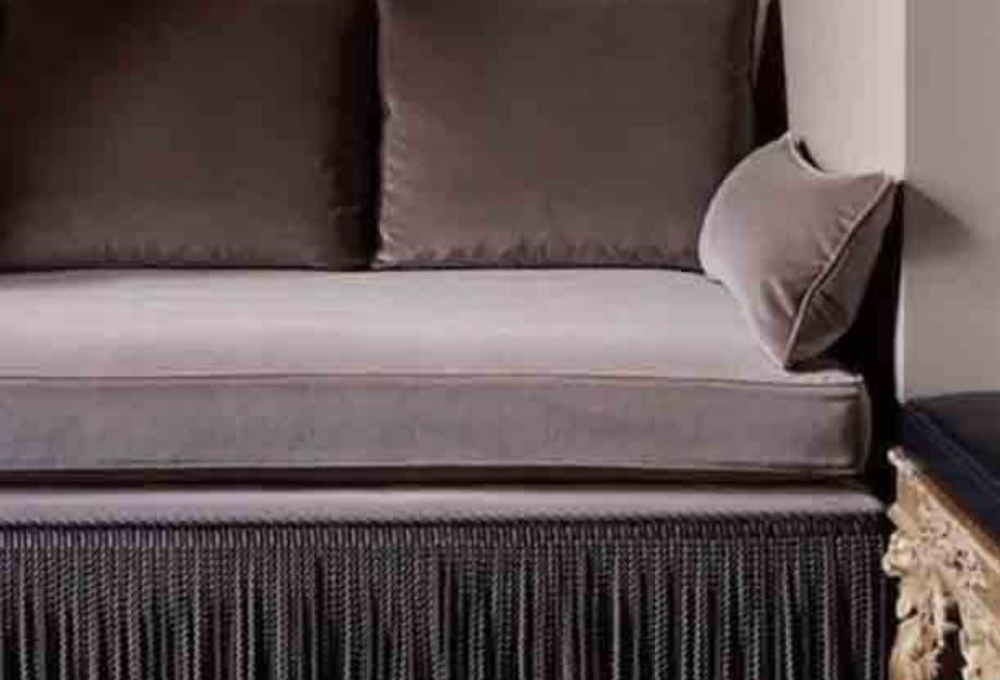 Sofas With Fringe Or Tassels