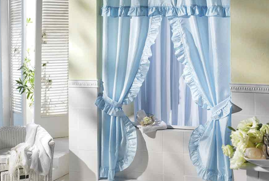 Gaudy Shower Curtains
