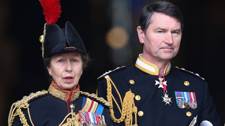 Princess Anne's Husband Thinks 'She's Great'