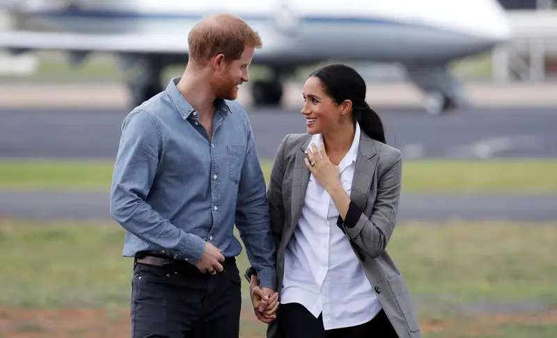 Markle And Prince Harry Moved To California