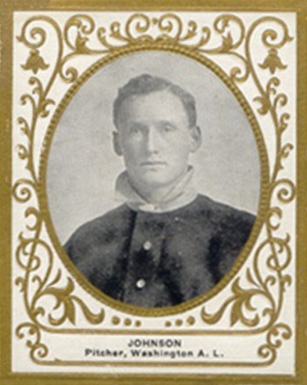 1909 Ramly Cigarettes T204 Walter Johnson