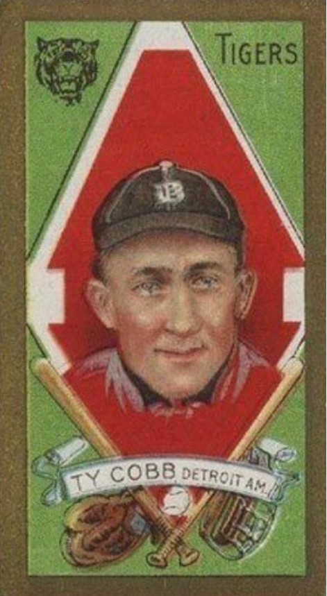 1911 T205 Gold Border Ty Cobb