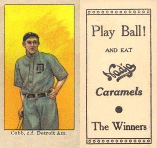 1909 Nadja Caramel E92 Ty Cobb