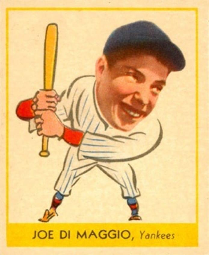 1938 Goudey #250 Joe DiMaggio