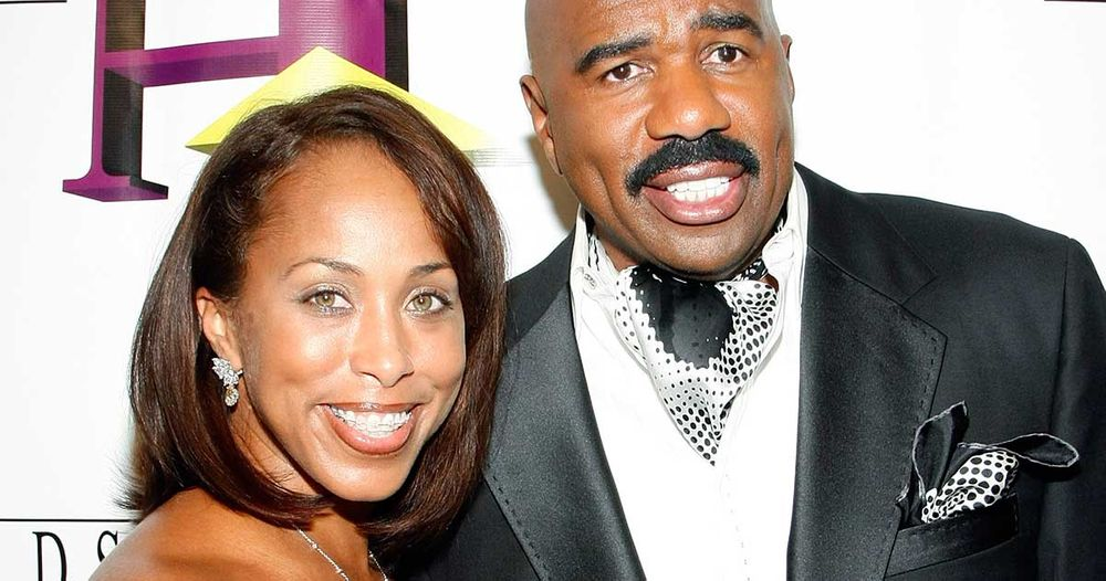 Steve Harvey Marjorie Harvey (Audience Member)