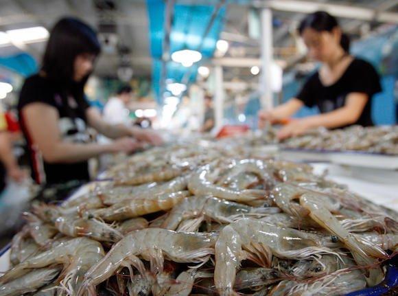 Shrimp Teh Eng KoonAFPGetty Images